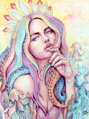 Sea Goddess by MonaParvin