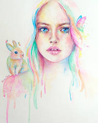 Little Bunny by MonaParvin