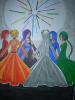 The Six Maidens by zeldafansunite