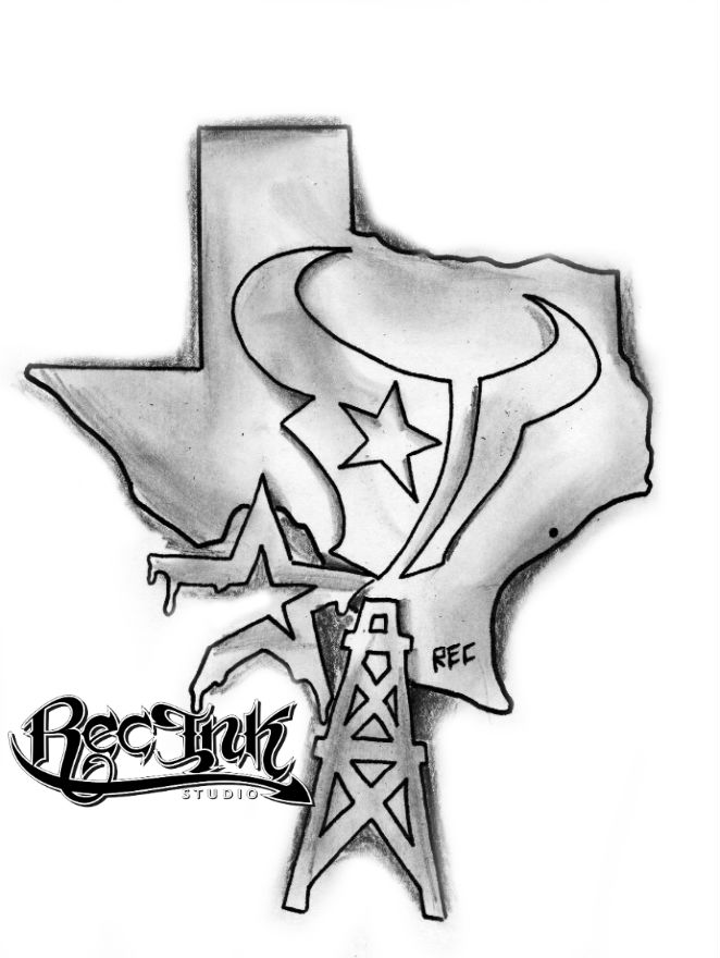 i 39 am from texas h town tattoo jose hernandez rec by txrec on deviantart. Black Bedroom Furniture Sets. Home Design Ideas