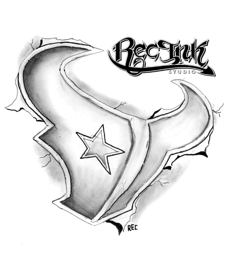 h town tattoo texans 3 d htown by rec screwston by txrec on deviantart. Black Bedroom Furniture Sets. Home Design Ideas