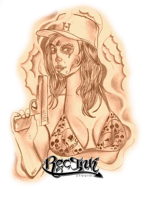 H Town Tattoo713Hustletown Screwston HTX By TXREC On