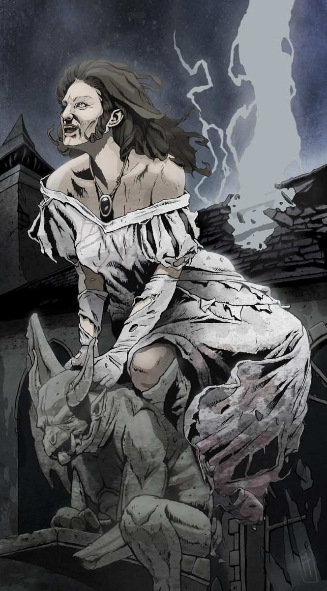 Genevieve Undead 2015 by MartinHanford1974