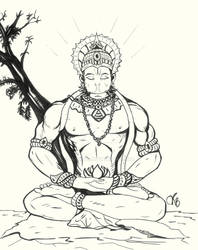 Thus, Hanuman got aware of his abilities by M-Blitz