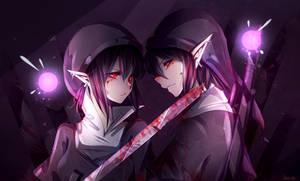 Dark Link x2 ~ by Likesac