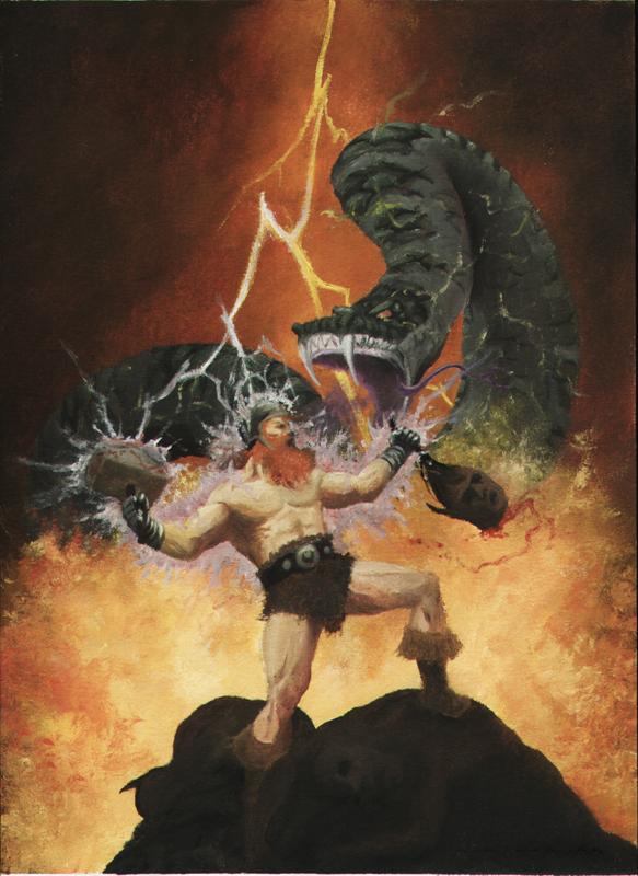 Thor's Ragnarok 2 by mochueloscuro