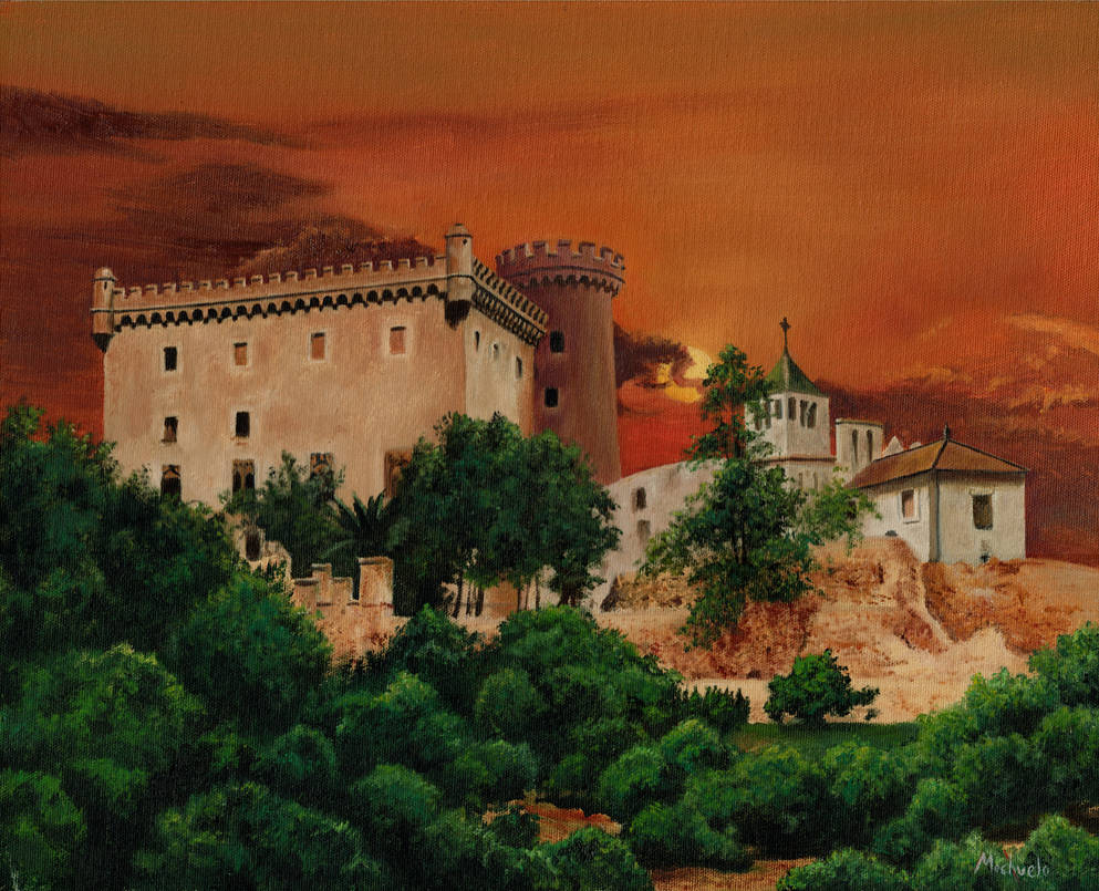 Castelldefels Casttle by mochueloscuro