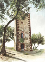 Tower in Castelldefels by mochueloscuro
