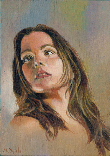 Paola Tirados Portrait by mochueloscuro