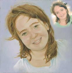 Paula when she was child