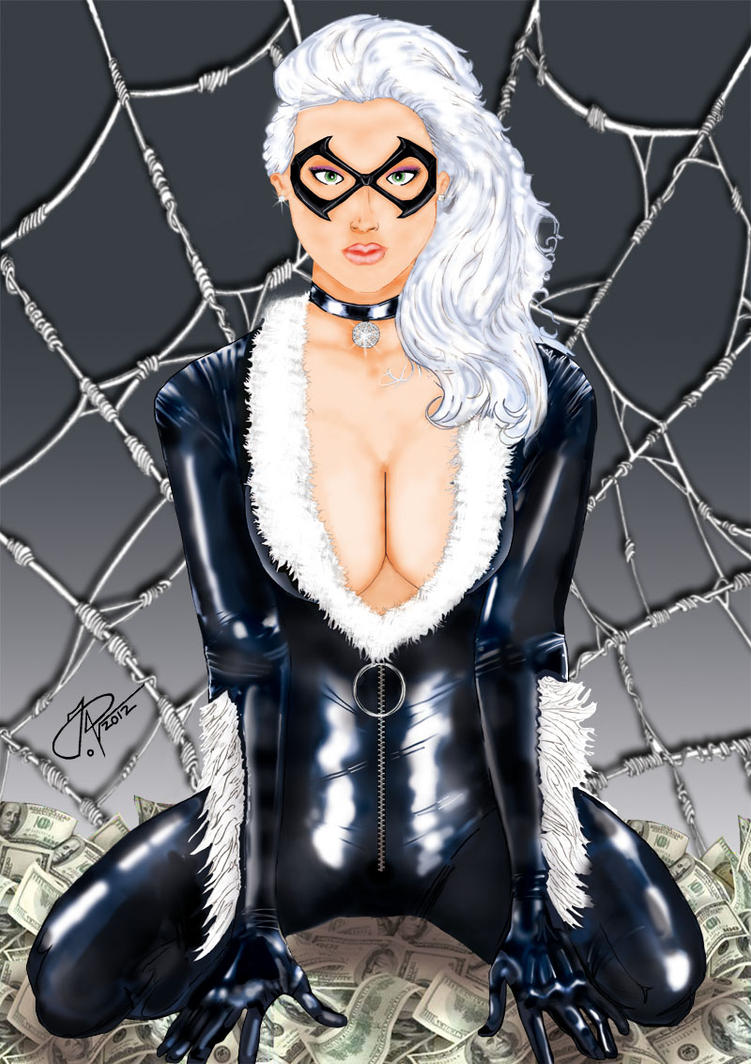 Black Cat latex by JauNt-ViSions