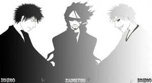 Ichigo, Zangetsu, Ichigo