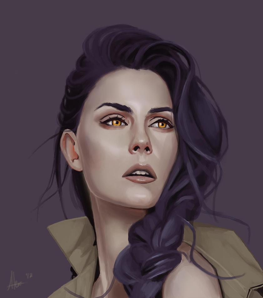 Portrait study by NukeMed