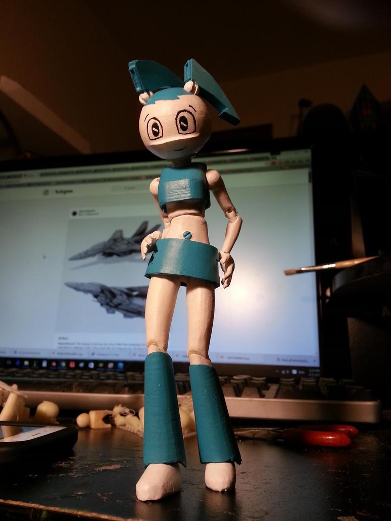 Jenny XJ-9 3D printed BJD by golgotha00