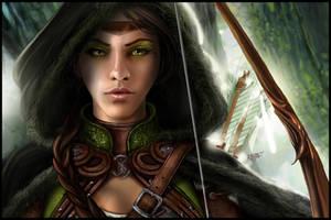 Green Eyes by KejaBlank