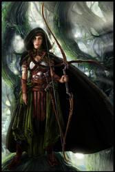 Fairy Archer by KejaBlank