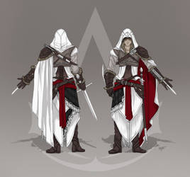 Assassins Creed - Costume concept by KejaBlank