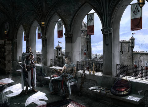 Assassins Creed - Altair and Adha
