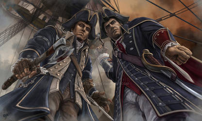 Connor/Haytham - Any last words?
