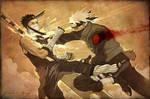 Sketchdump 02 - Kakashi VS Zabuza