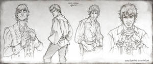 Locke Lamora - Sketches