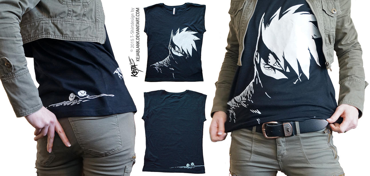 Design t shirt picture - Kakashi Hatake T Shirt Design By Kejablank