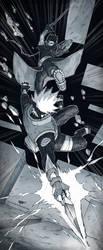 Kakashi/Obito - Everything falls apart by KejaBlank