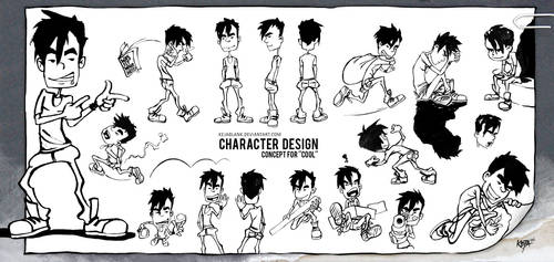 COOL - Character design