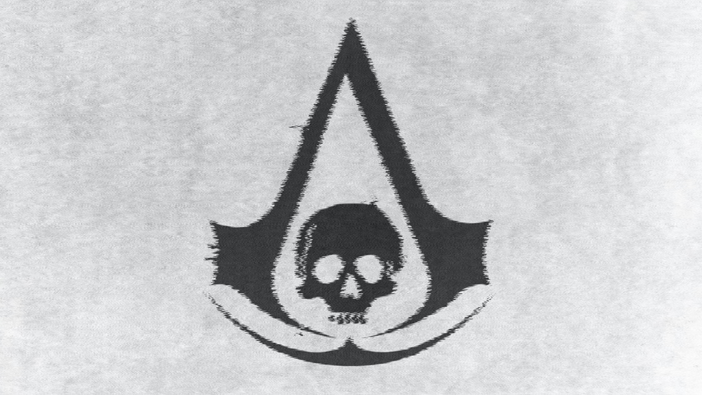 Assassin S Creed Iv Black Flag Logo Wallpaper By Bipolarshooter