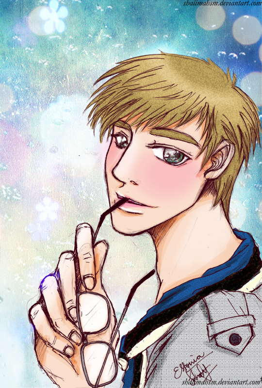 Hetalia: Eduard of Estonia by shalimahsm