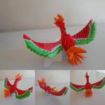 Ho-Oh origami