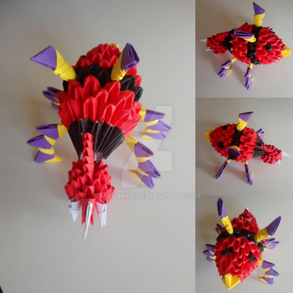 Ariados origami