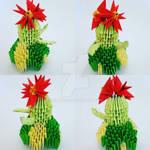 Bellossom origami