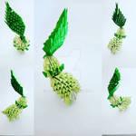 Chikorita origami