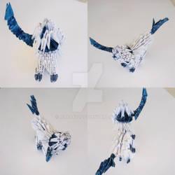 Absol origami by marakiO