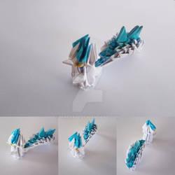 Pachirisu origami by marakiO