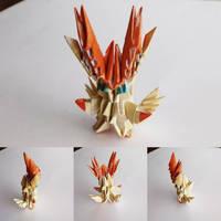 Victini origami