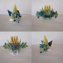 Cacnea 2 origami  by marakiO