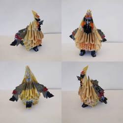 Waxwing Origami  by marakiO