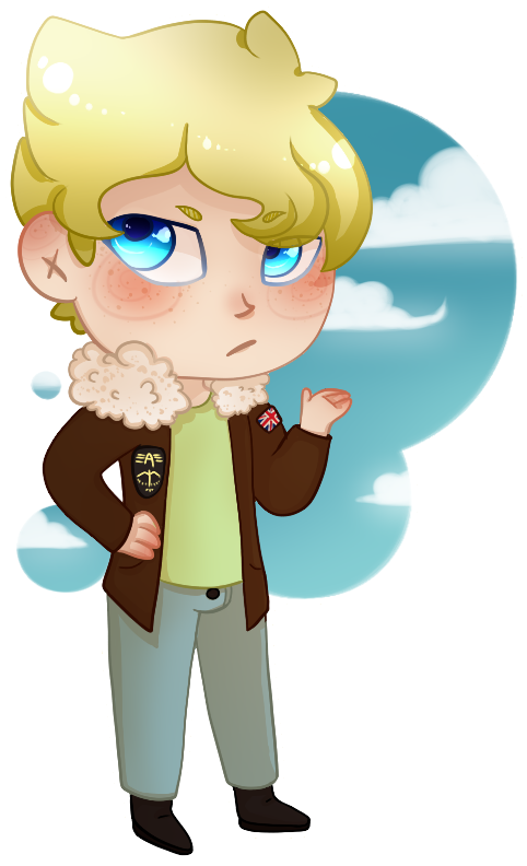 Martin! (Chibi Commission!) by Go-Getter-Guy