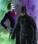 The Joker and the Bat by TomXaros