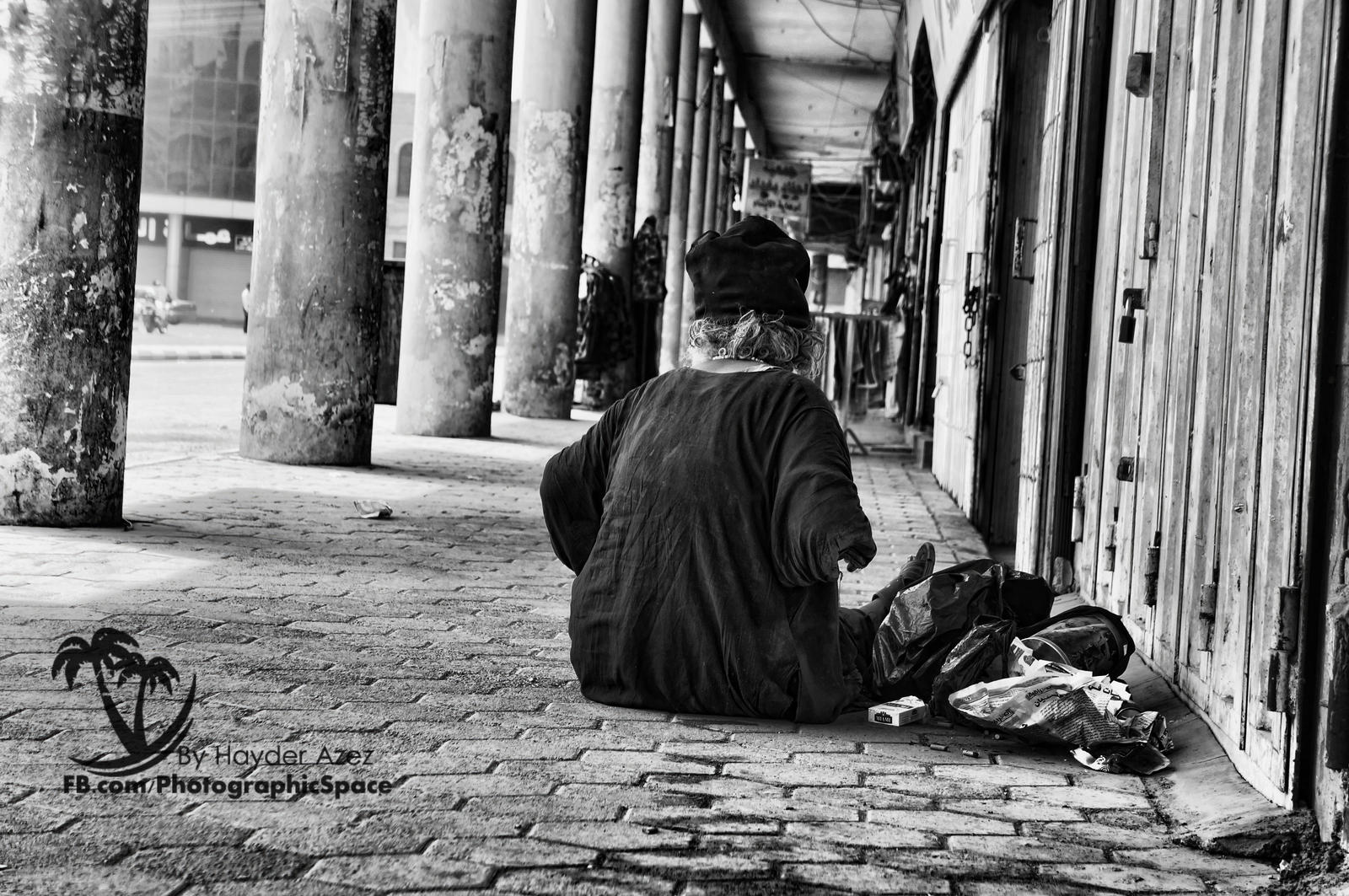 A women In need by Photographic-Space