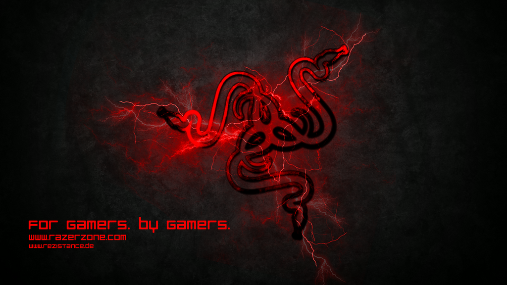 Razer red storm wallpaper by preyker on deviantart - Red gaming wallpaper ...