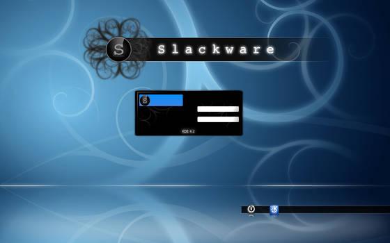 Slackware KDM theme by madsheytan