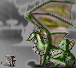 Manahy Draken como un Padre by Dragon-Den