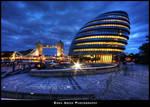 City Hall and Tower Bidge
