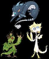 Three Dragons [DTR] by Beanku