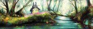Totoro's secret glade