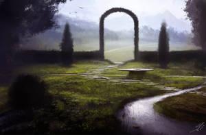 Garden of purity by Mattiasedstrom