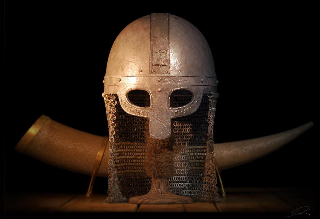 Viking helmet by Mattiasedstrom